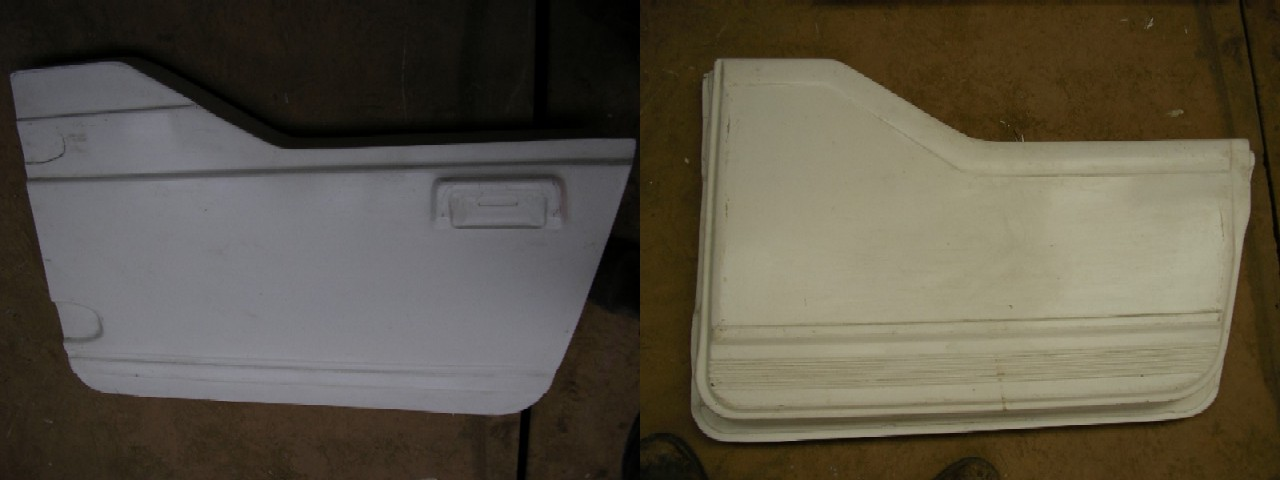 Suzuki Samurai Fiberglass Body Parts