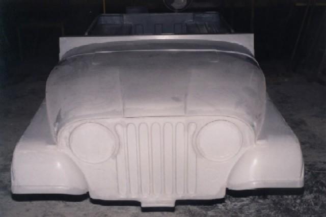 4wd Fiberglass Jeep Cj5 Cj7 Cj8 One Piece Front End