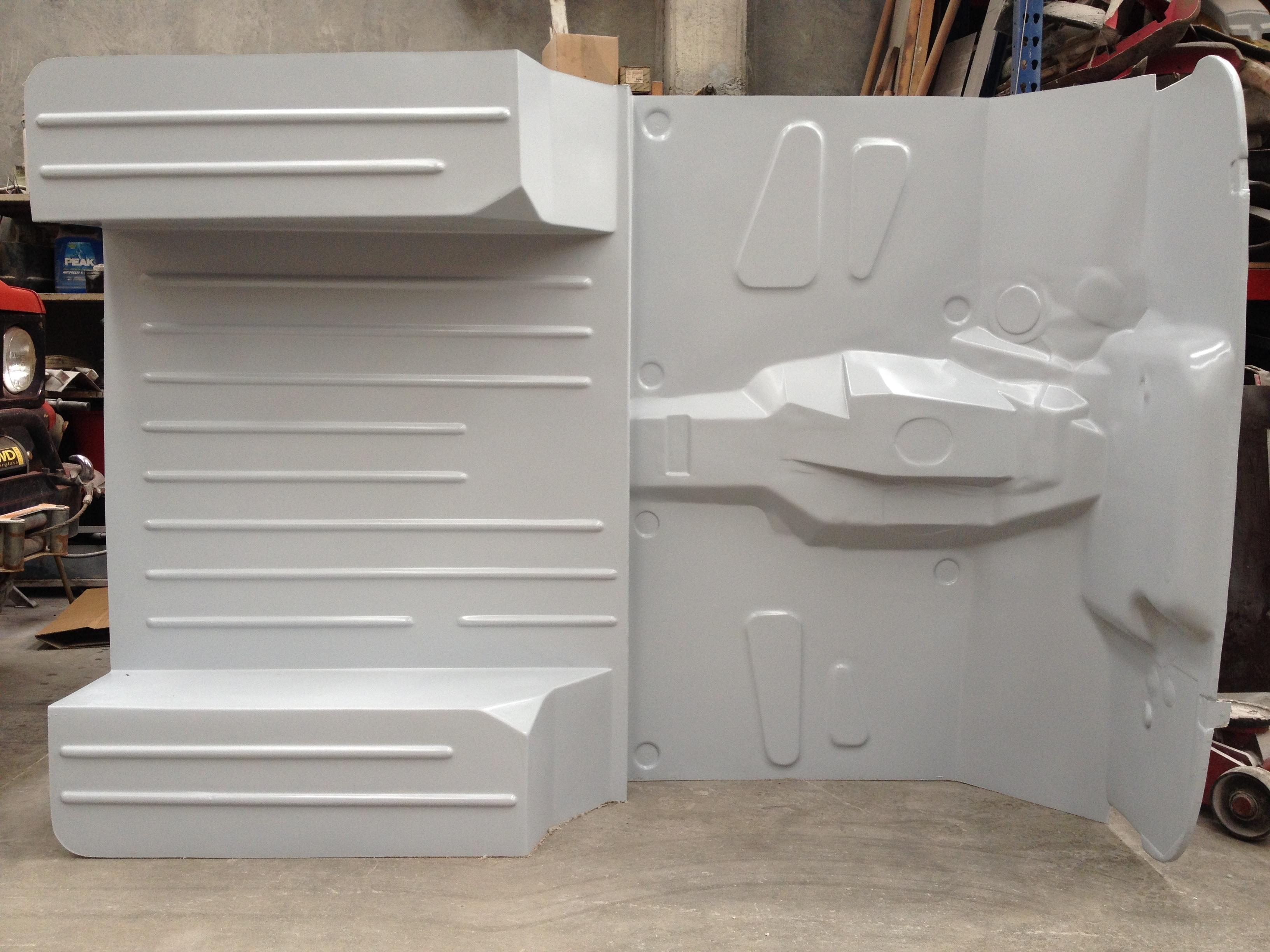 4wd Fiberglass Jeep Cj5 Flat Floor Or Shaped Floor Body Tub