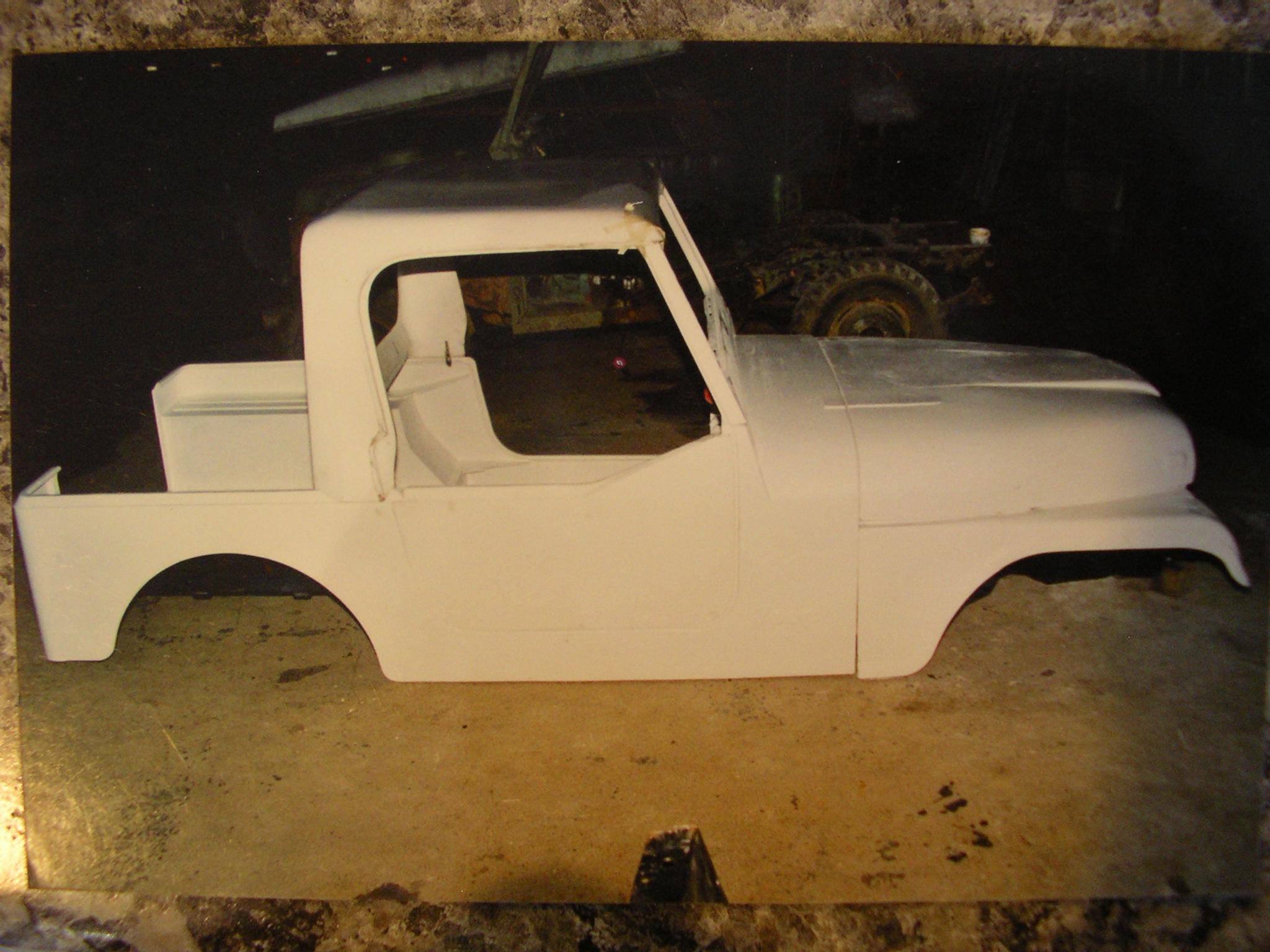 4wd Fiberglass Jeep Cj7 Body Tub